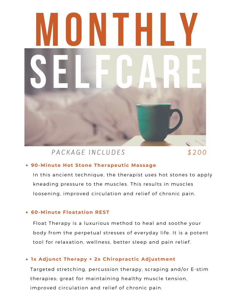 Monthly Self Care
